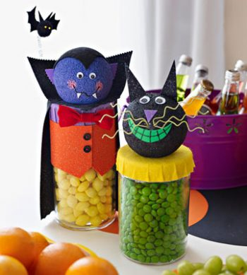Halloween Candy Jars