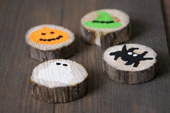 Handmade Halloween Match Game