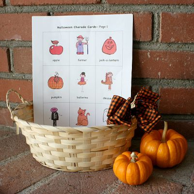 Halloween Charades | Fun Family Crafts