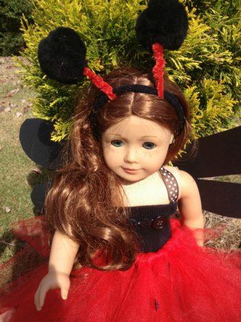 Doll Sized Ladybug Costume
