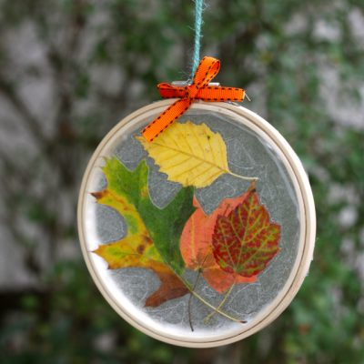 Embroidery Hoop Suncatcher