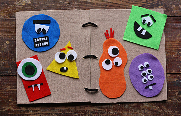 Monster Felt Board Book
