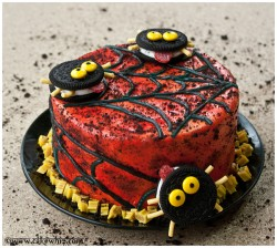 Twizzler and Oreo Cake