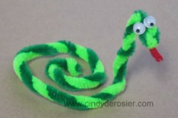 Pipe Cleaner Snake