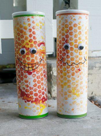 Bubble Wrap Print Corn Shakers