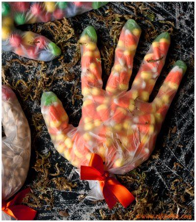 Spooky Treat Hands