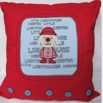 Upcycled T-shirt Cushion