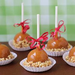 Caramel Apple Fudge Pops