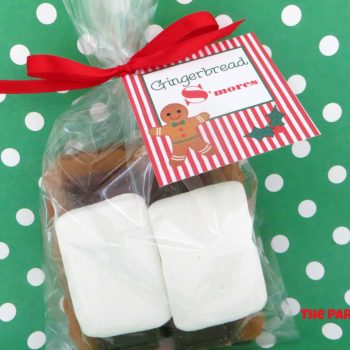 Gingerbread S'mores