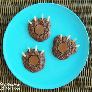 Brownie Bear Claw Cookies