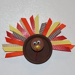 Canning Jar Lid Turkey