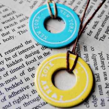 Souvenir Washer Necklaces