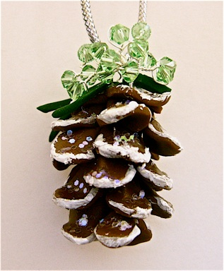 Precious Pinecone Ornament