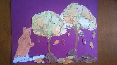 Bear & the Falling Leaves