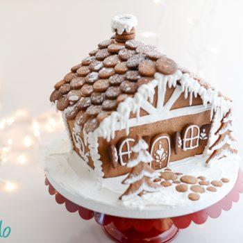 Gingerbread House Recipe &Template