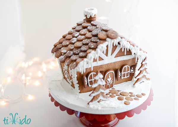 gingerbread house recipe  u0026template