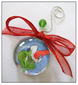 Glass Marble Ornaments
