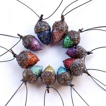 Acorn crafts for kids for Acorn necklace craft