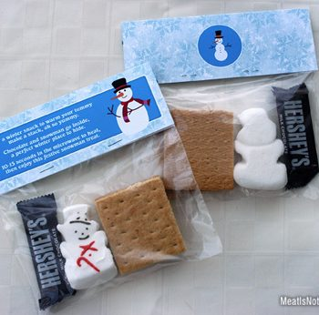 Holiday S'mores Treat