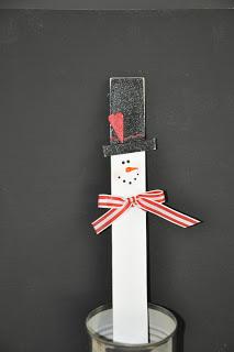 Ruler Snowman
