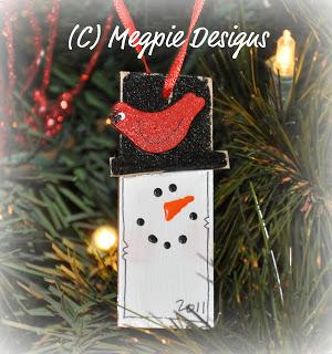 Snowman Classroom Ornament