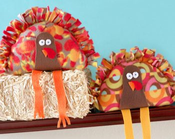 No-Sew Stuffed Turkey