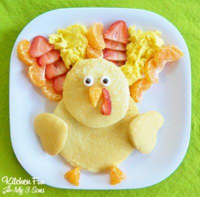Thanksgiving Turkey Pancakes