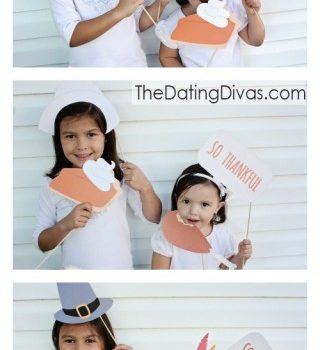 Printable Thanksgiving Photo Props