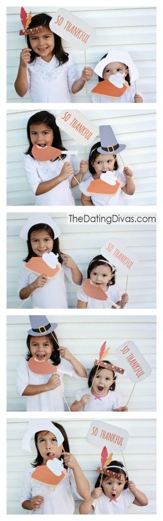 Printable Thanksgiving Photo Props