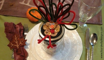 Gobble Gobble Gift In Jar
