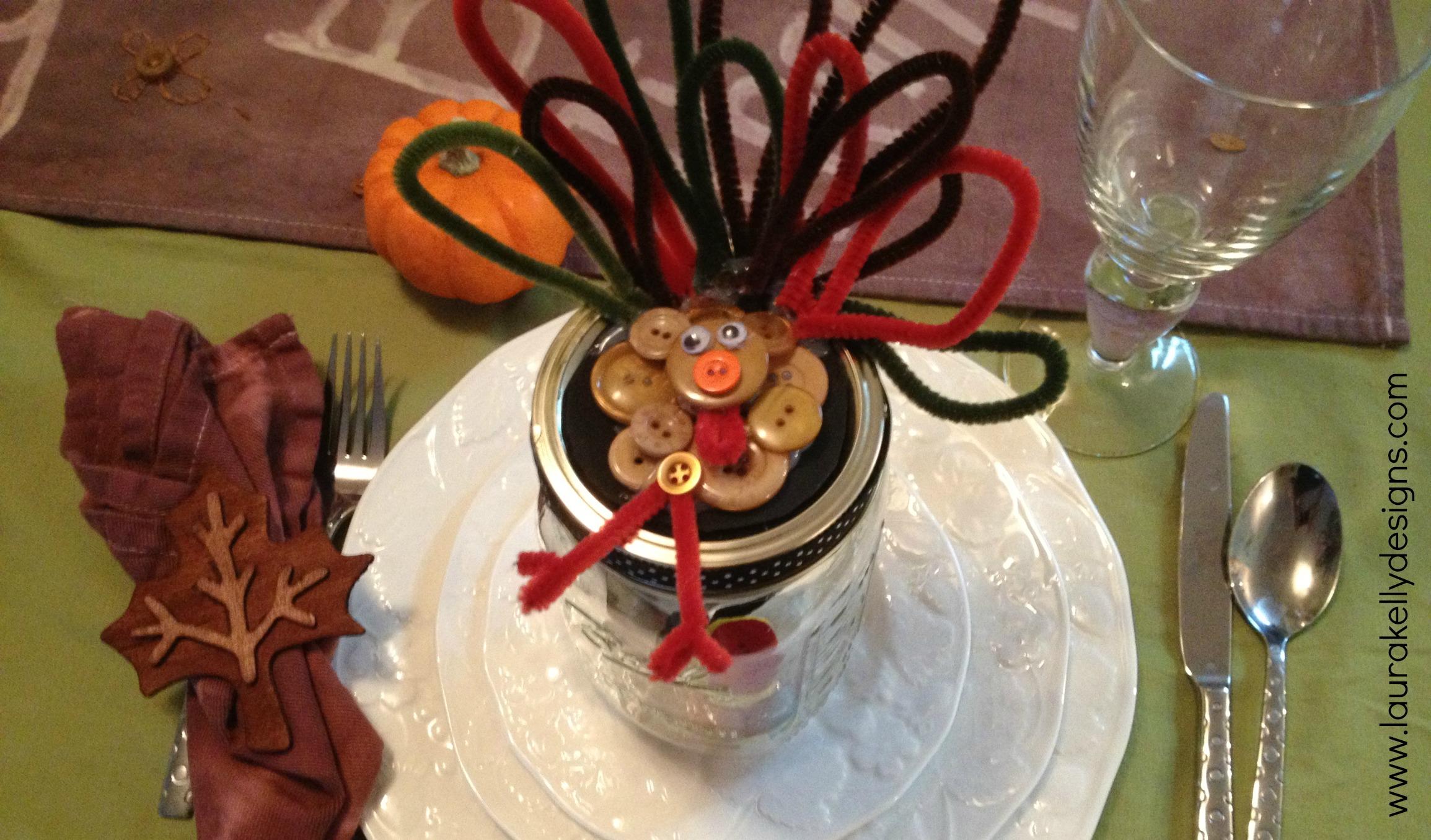 Gobble Gobble Gift In Jar
