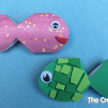 Cardboard Tube Fish