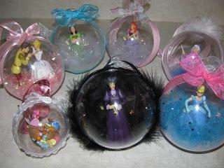 Disney Character Ornaments