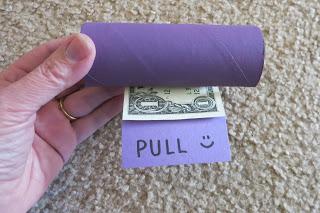 Dollar Bill Dispenser