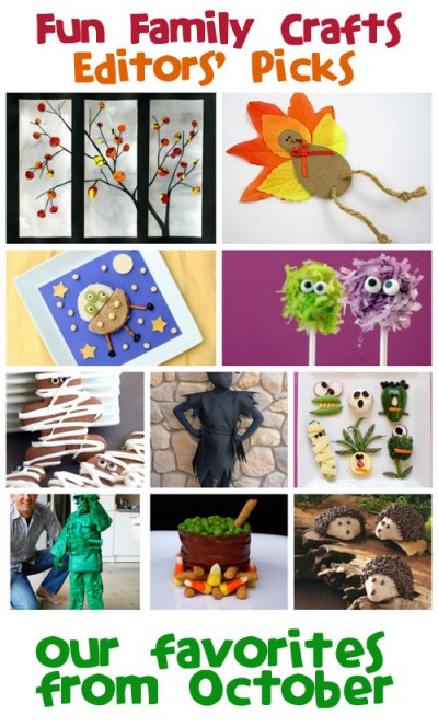 Fun Family Crafts - Editors' Picks: October 2013