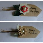 Felt & Leather Gift tags