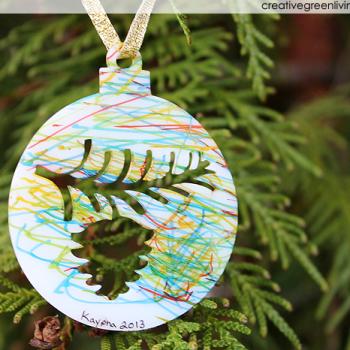 Shrinky Ornaments