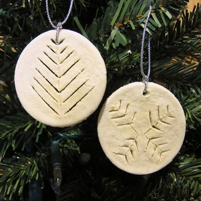 "Icelandic ""Leaf Bread"" Ornament"