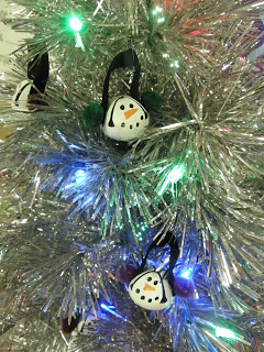Jingle Bell Snowmen Ornaments