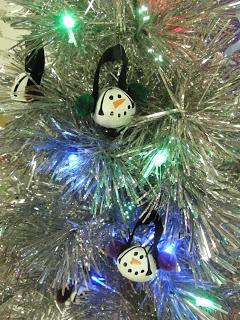 Jingle Bell Snowmen Ornaments