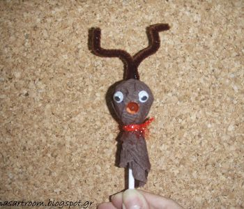 Lollipop Reindeer