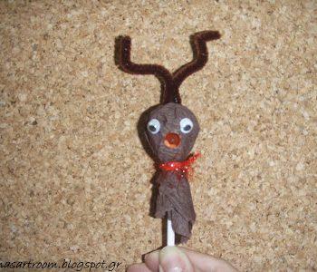 Lollipop Reindeer