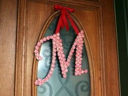 Peppermint Candy Monogram