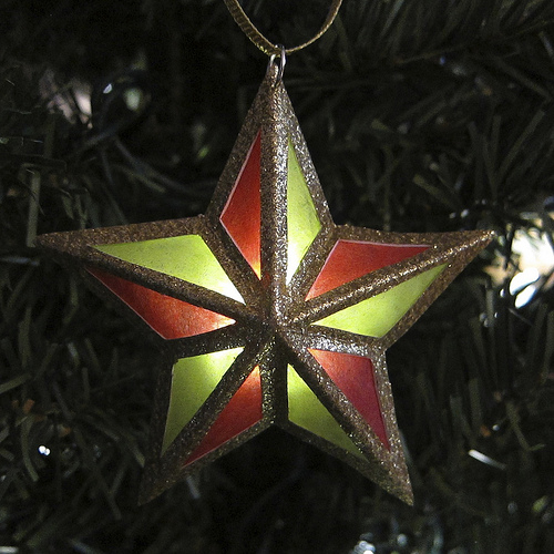 Paper Parol Ornament