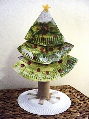 Paper Plate Christmas Tree