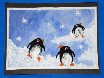 Penguin Printmaking