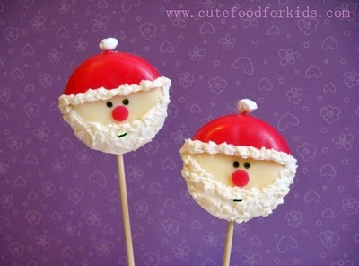 Babybel Cheese Santa