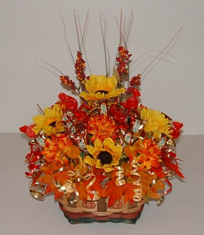 Thanksgiving Candy Bouquet