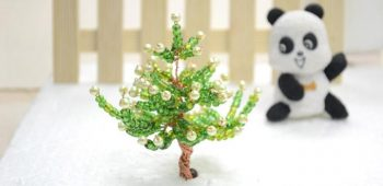 3D Glass Bead Christmas Tree