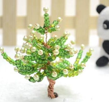 3D Glass Bead Christmas Tree